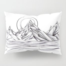 'Crystal Mountain Peaks' Pillow Sham
