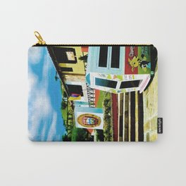 Bright blue sky, bright colors. Carry-All Pouch