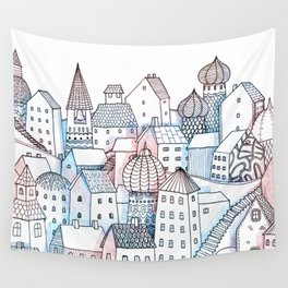 Smalltown Silence Wall Tapestry