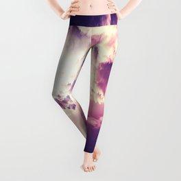 Colorful clouDs Leggings