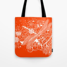 The Dragon Fly Tote Bag