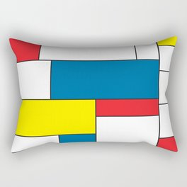 De Stijl Rectangular Pillow