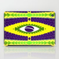 brazil iPad Cases featuring BRAZIL CUP by Chrisb Marquez