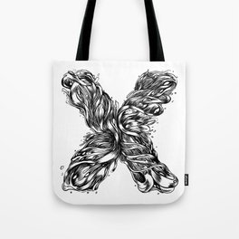 The Illustrated X Tote Bag