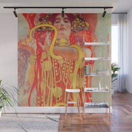 Gustav Klimt - Greek Goddess of Medicine Hygeia Wall Mural