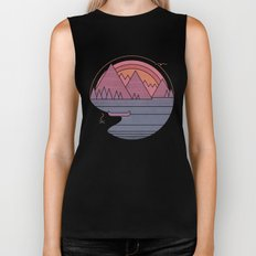 The Mountains are Calling Biker Tank