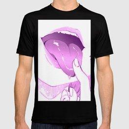 Sexy anime aesthetic - naughty tongue T-shirt