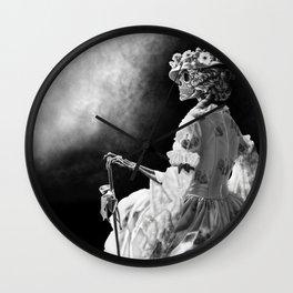 Lady Skeleton Wall Clock