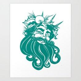 A Christmas Carol: The Ghost of Christmas Present Art Print