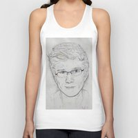 tyler spangler Tank Tops featuring Tyler Oakley by EleanorOrchard