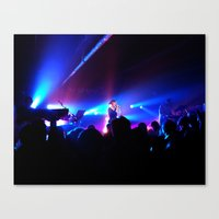 chvrches Canvas Prints featuring I have burned your bridges by profnutbutter