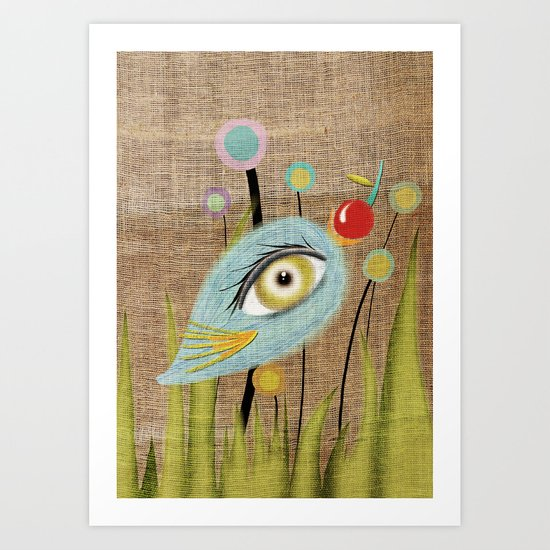I am going to eat you up  Art Print