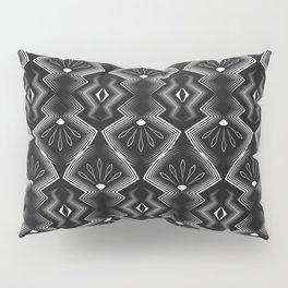"Art Deco . Black and white pattern .""Constance "". Pillow Sham"