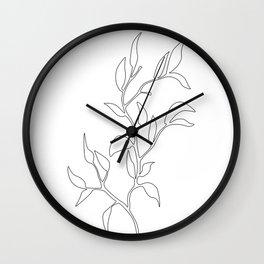 Branch Wall Clock