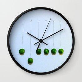 visece jabuke Wall Clock