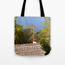 Hay Roof View Tote Bag