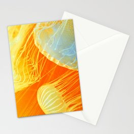 Jellyfish of the Orange Marmalade Hoodie Stationery Cards