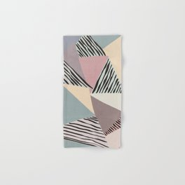 Modern irregular Stripes 03 Hand & Bath Towel