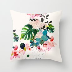 Jane Soleil Throw Pillow