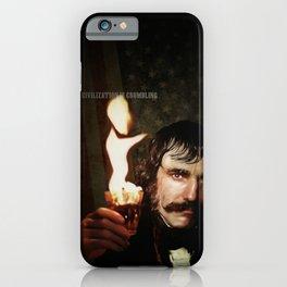 Civilization is Crumbling (Bill the Butcher) iPhone Case