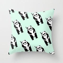 hunting bears Throw Pillow