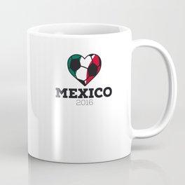 Mexico Soccer Shirt 2016 Coffee Mug