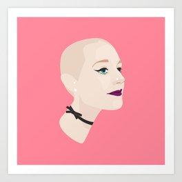Baldie Art Print