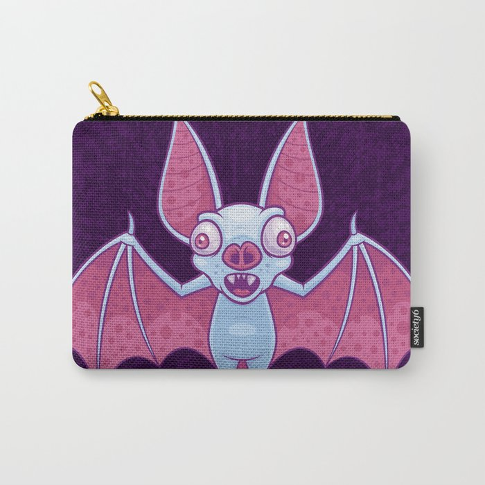 Albino Vampire Bat Carry-All Pouch