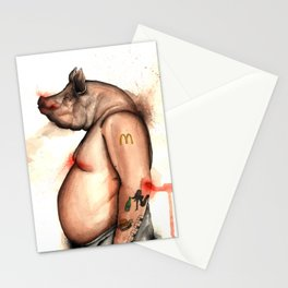 pig Stationery Cards