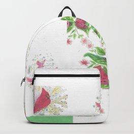 Cardinal Ladybug Pattern Backpack