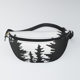 Dense Forest Tree Line Fanny Pack