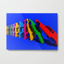 Cadillac Domino (minimal) Metal Print