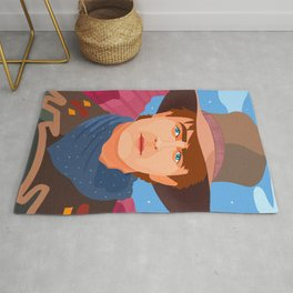 Back to the Future III Rug