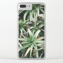 Aloe, mate. Clear iPhone Case