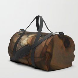 Old Doll Face Duffle Bag