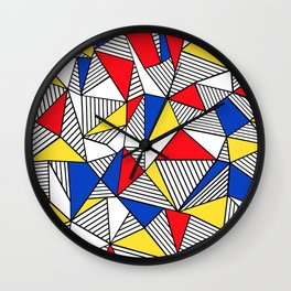 Ab Mond Wall Clock