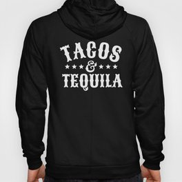 Tacos & Tequila (Orange) Hoody
