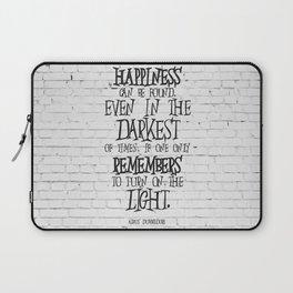 Albus Dumbledore Quote Inspirational Laptop Sleeve