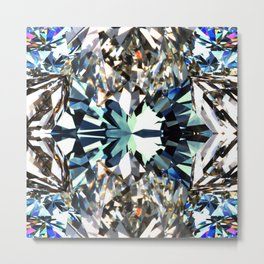 JCrafthouse Crystal Dynamic - Natural Metal Print