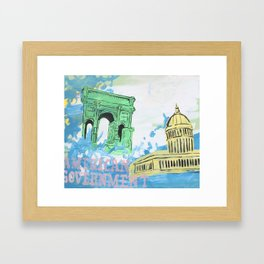 """American Government"" Framed Art Print"