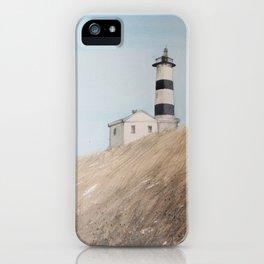 Sunny lighthouse iPhone Case