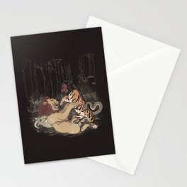 The Chimera Fight Stationery Cards