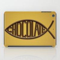 chocolate iPad Cases featuring Chocolate by Sebastián Arango Guerrero