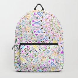 Colorful Tribal Triangle Mandala Backpack