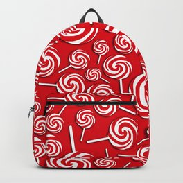 Candy Swirls-Large Backpack