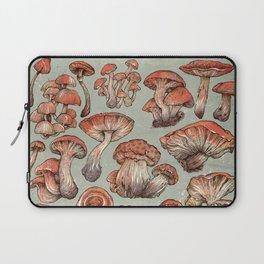 A Series of Mushrooms Laptop Sleeve