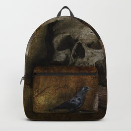 Crow and Skull Backpack