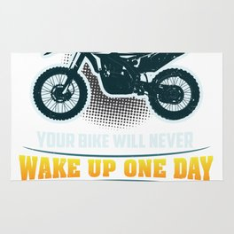 Motocross - Dirt Bike - Always Remember Rug