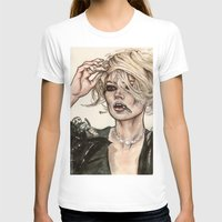kate moss T-shirts featuring Kate Moss by vooce & kat