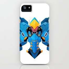 Justice Rains From Above iPhone Case